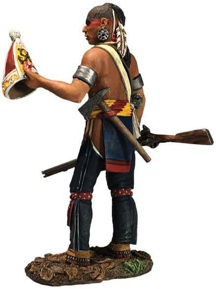 WB16062 Native Warrior with Souvenir Cap